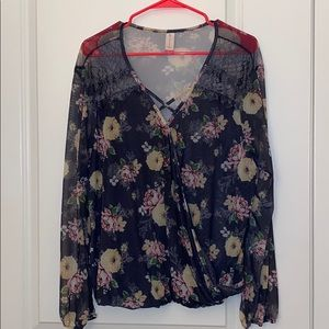 No Boundries XXL Casual Blouse Top